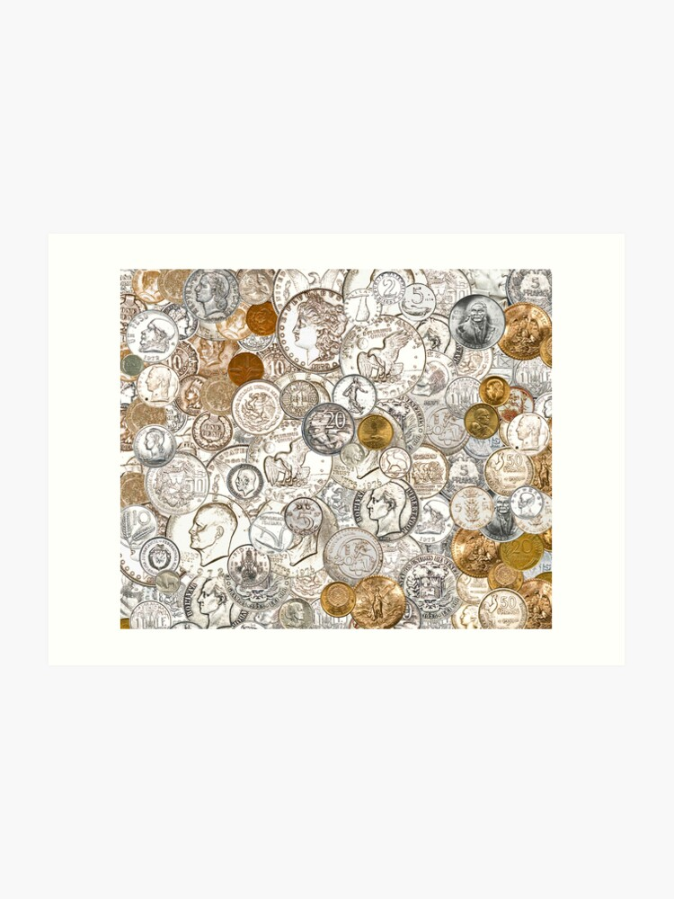 Coin Collage | Art Print