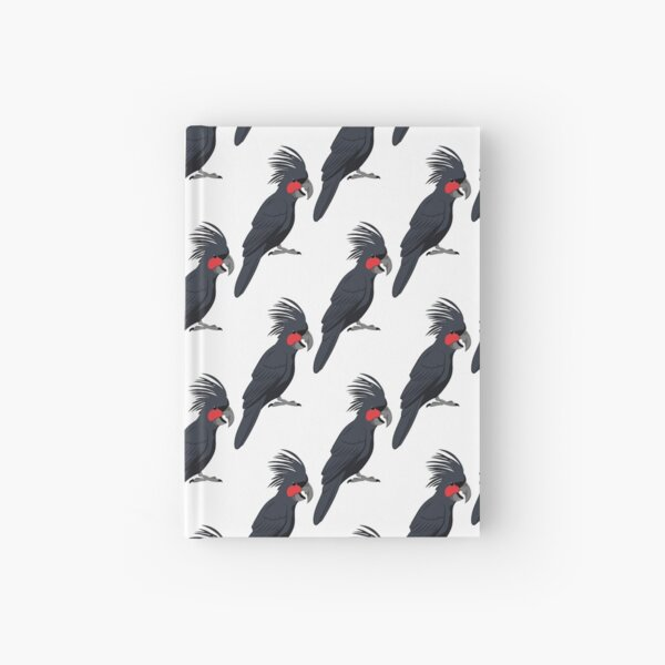 Palm Cockatoo Hardcover Journal