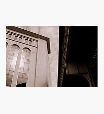 Yankee Stadium & Subway Tracks Photographic Print