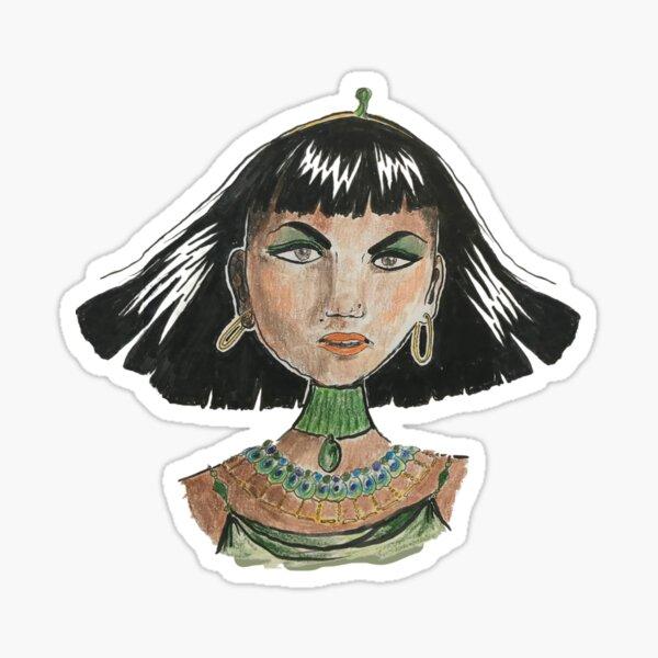 Fierce Nefertiti Sticker
