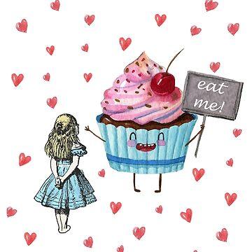 Alice In Wonderland - Eat Me  by maryedenoa