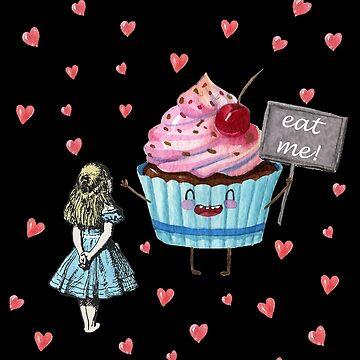 Alice im Wunderland - Iss mich von maryedenoa