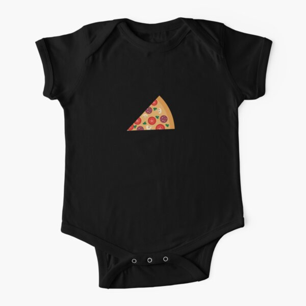 Matching Pizza Shirt, mom and baby or couples shirt Short Sleeve Baby One-Piece
