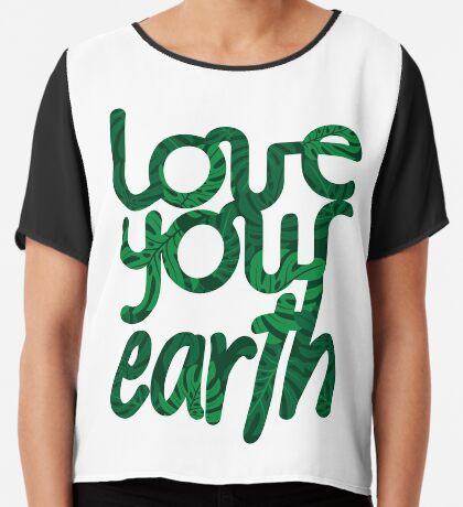 Love your Earth II Chiffon Top