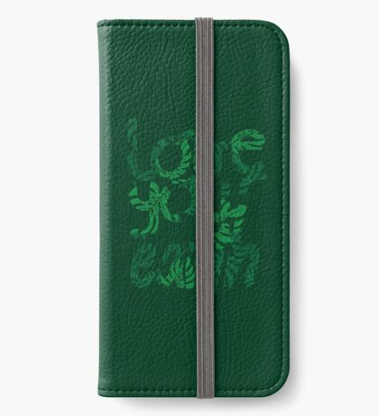 Love your Earth II iPhone Wallet