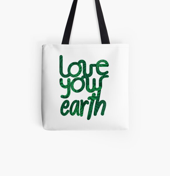 Love your Earth II All Over Print Tote Bag