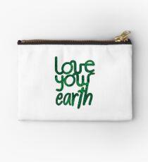 Love your Earth II Zipper Pouch