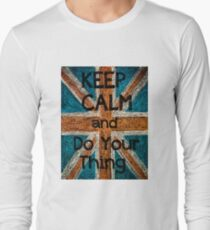 Keep Calm and Do Your Thing  message T-Shirt
