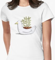 Succulent in Duck Planter T-Shirt