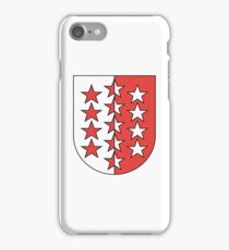 Coat of Arms of Valais Canton iPhone Case/Skin