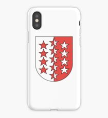 Coat of Arms of Valais Canton iPhone Case