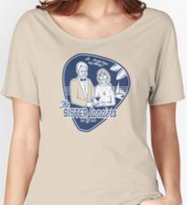 The Sister Fanciers Blue/Grey Women's Relaxed Fit T-Shirt