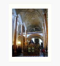 The Hofkirche (Imperial Church) Innsbruck, Tyrol - Austria Art Print