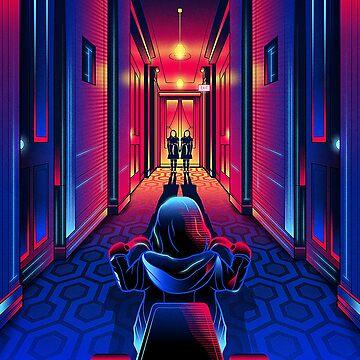 The Shining The twin corridor by mimetati9
