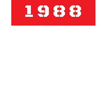 1988 30th Birthday by kristelmarquez