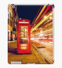 London red telephone box iPad Case/Skin