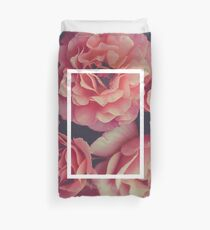 The 1975 Floral Rectangle Duvet Cover