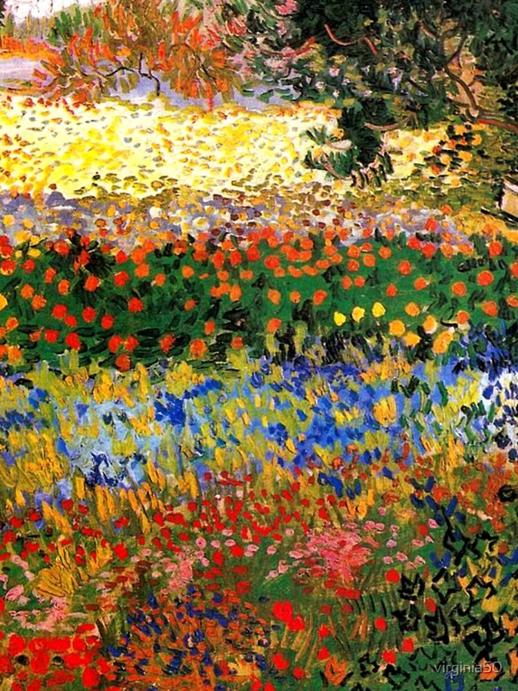 Van Gogh - Flower Garden, famous painting by virginia50
