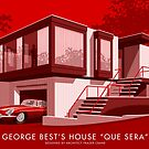 George Best's House by Stephen Millership