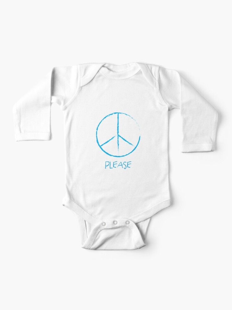 REBELN Peace Love Baseball Cotton Short Sleeve T Shirts For Baby Toddler Infant