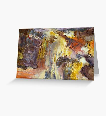 Cania cliff face Greeting Card