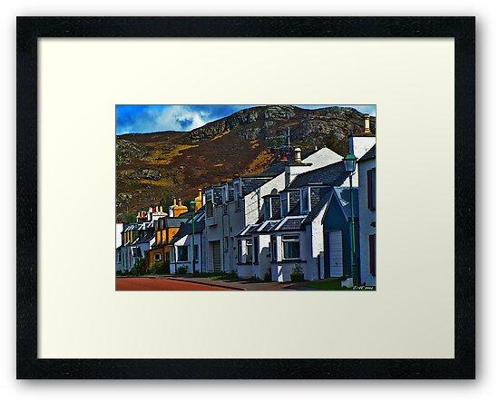 Doon The Street, Shieldaig by Elizabeth Austin-Craig