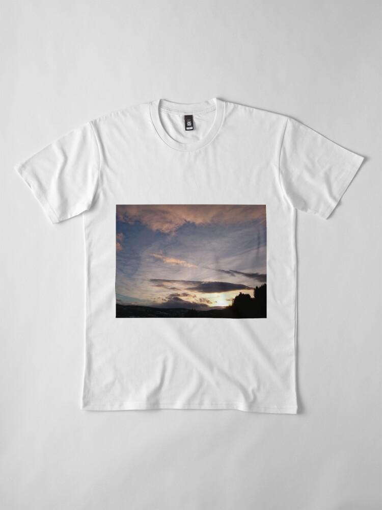 Alternate view of Evening Sky II Premium T-Shirt