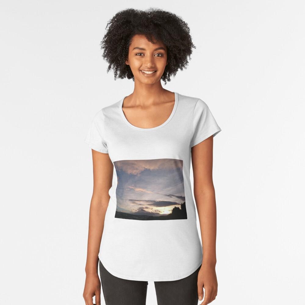 Evening Sky II Premium Scoop T-Shirt