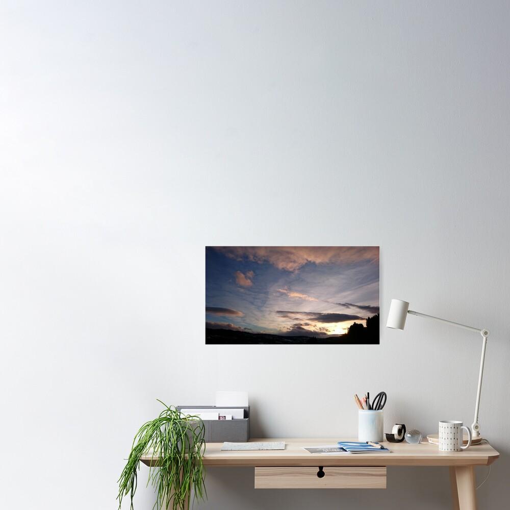Evening Sky II Poster