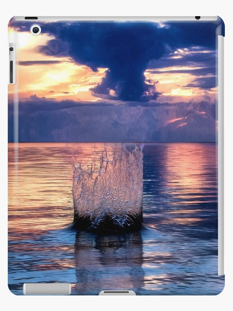 Sunset Splash - Indian Lake - Michigan by Kathy Weaver