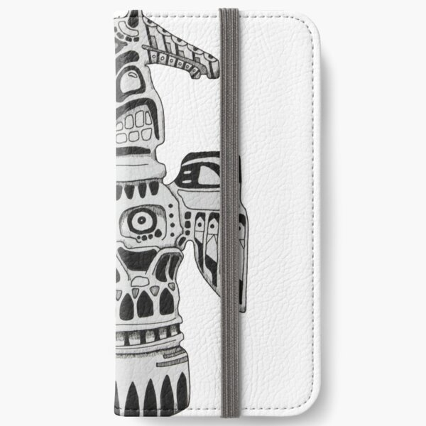 Totem Pole iPhone Wallet
