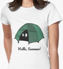 Hello, Summer! enjoy every moment Women's Fitted T-Shirt