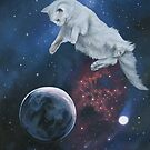 Space Kitty II by Susan Van Sant