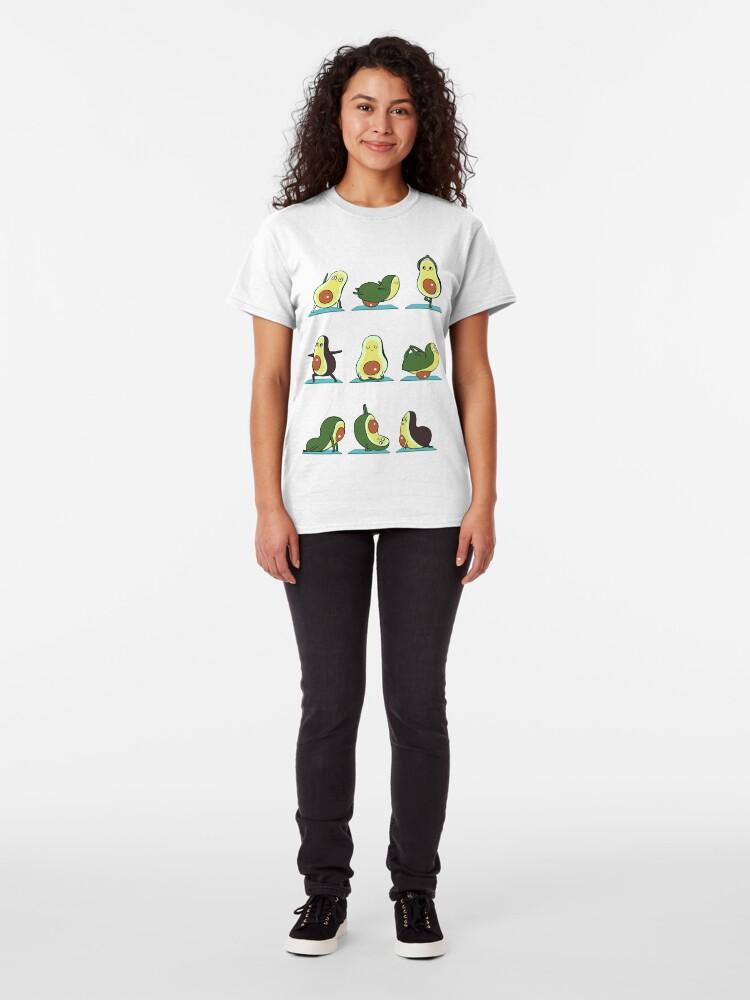 Alternate view of Avocado Yoga Classic T-Shirt