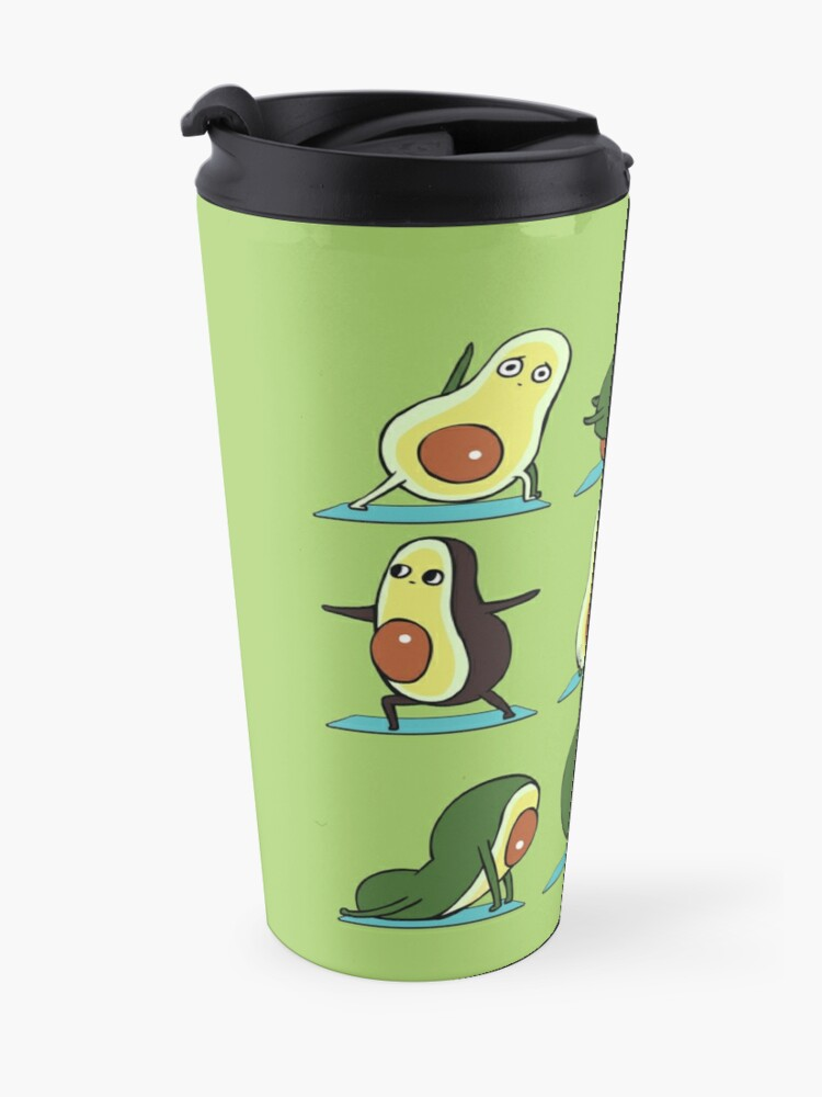 Alternate view of Avocado Yoga Travel Mug
