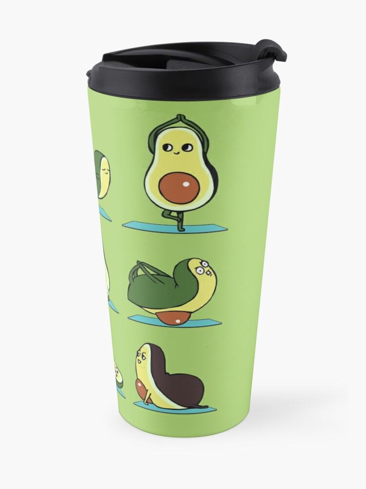 Alternate view of Avocado Yoga Travel Mug