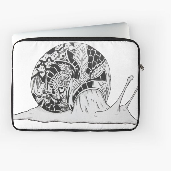 Snail Pattern Laptop Sleeve