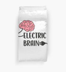Electric Brain Duvet Cover