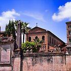 Basilica di Santa Sabina all'Aventino by daphsam