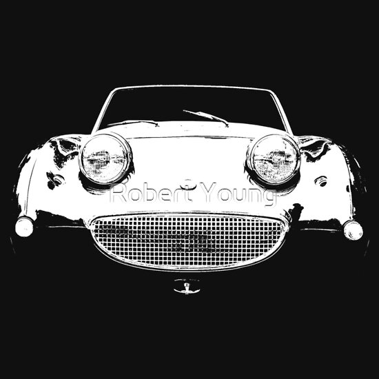 TShirtGifter presents: 1958 Austin Healey Sprite Mk1