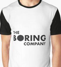 The Boring Company Logo Graphic T-Shirt