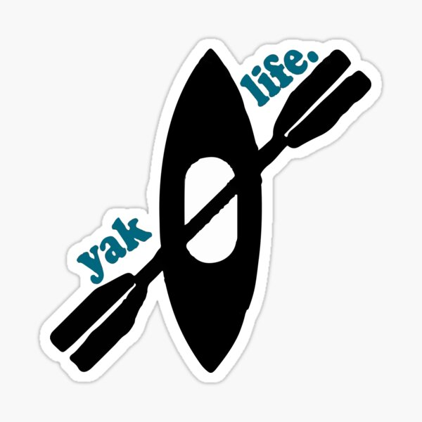 Kayak Sticker