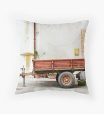 trailer nit-107 Throw Pillow