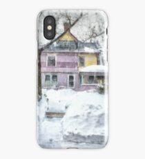 Victorian Snowstorm iPhone Case