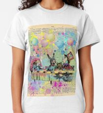 Tea Party Celebration - Alice In Wonderland Classic T-Shirt