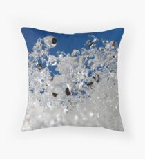 Winter Skyward Throw Pillow