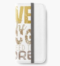 Love is the drug iPhone Wallet/Case/Skin