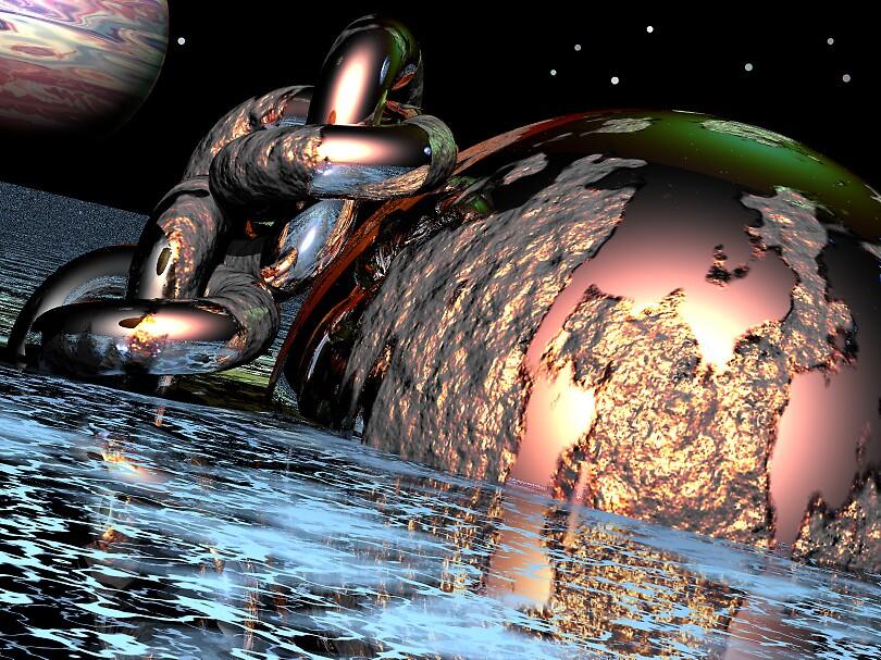Captive Earth by WoodrowWilliams