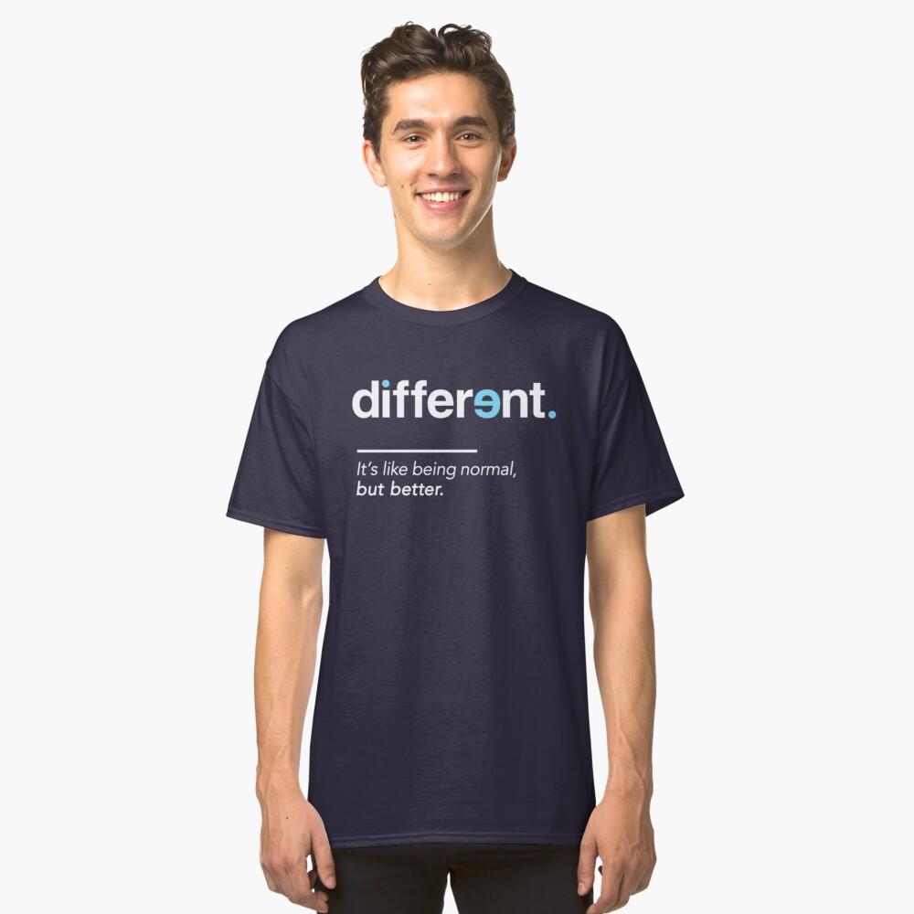 Seien Sie unterschiedliches Hemd für Autismus-Bewusstseins-Monat Classic T-Shirt