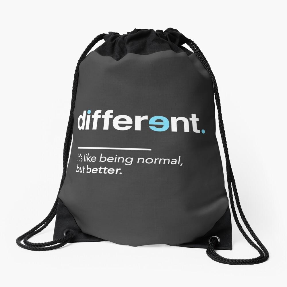 Seien Sie unterschiedliches Hemd für Autismus-Bewusstseins-Monat Turnbeutel